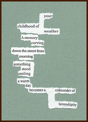found poem © j.i. kleinberg ~ your childhood