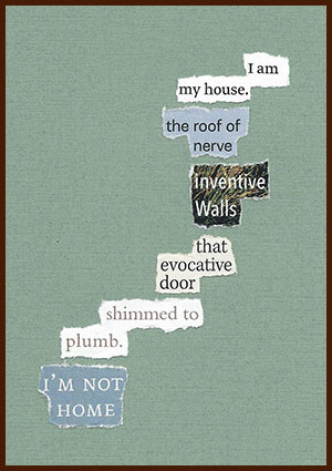 found poem © j.i. kleinberg ~ I am