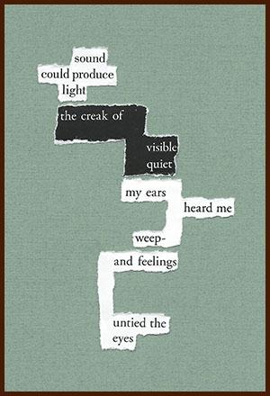 found poem © j.i. kleinberg ~ sound