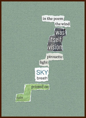 found poem © j.i. kleinberg ~ in the poem