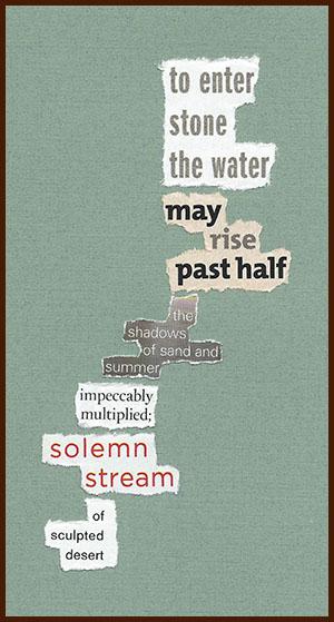 found poem © j.i. kleinberg ~ to enter