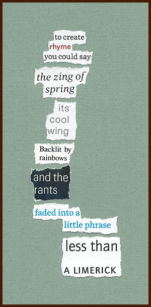 found poem © j.i. kleinberg ~ to create