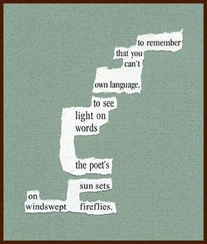 found poem © j.i. kleinberg ~ to remember