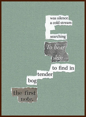 found poem © j.i. kleinberg ~ was silence
