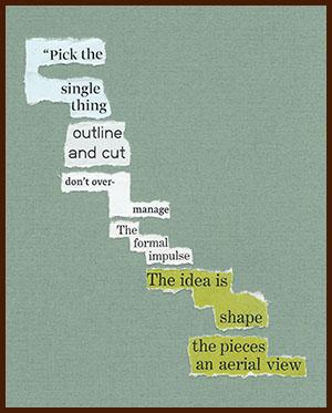 found poem © j.i. kleinberg ~ Pick
