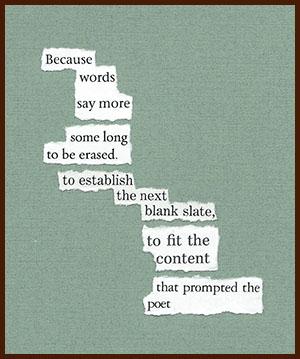 found poem © j.i. kleinberg ~ Because