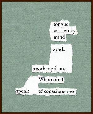 found poem © j.i. kleinberg ~ tongue