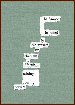 found poem © j.i. kleinberg ~ half-moon