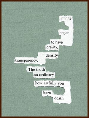 found poem © j.i. kleinberg ~ infinite