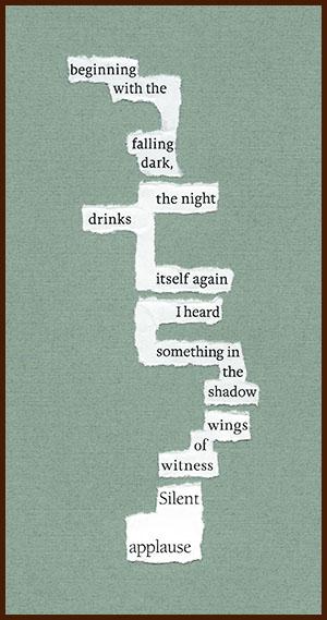 found poem © j.i. kleinberg ~ beginning