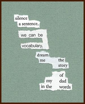 found poem © j.i. kleinberg ~ silence