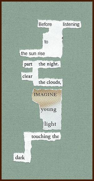 found poem © j.i. kleinberg ~ Before listening