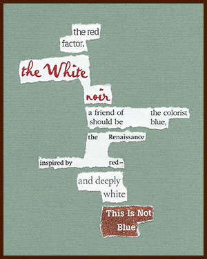 found poem © j.i. kleinberg ~ the red