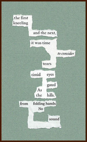 found poem © j.i. kleinberg ~ the first