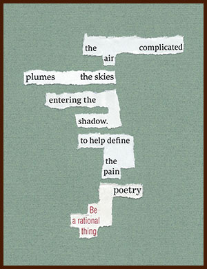 found poem © j.i. kleinberg ~ the complicated