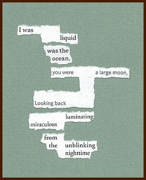 found poem © j.i. kleinberg ~ I was