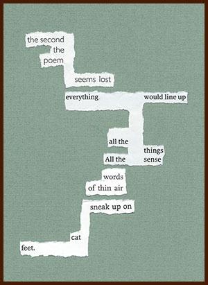 found poem © j.i. kleinberg ~ the second