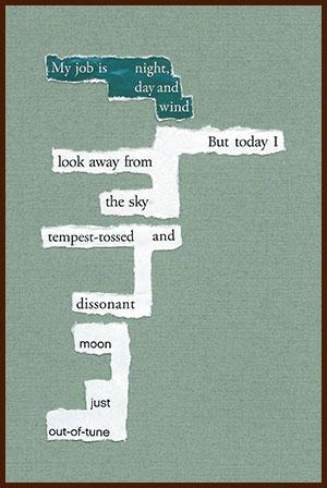 found poem © j.i. kleinberg ~ My job