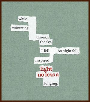 found poem © j.i. kleinberg ~ while swimming
