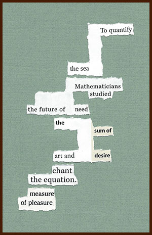 found poem © j.i. kleinberg ~ To quantify