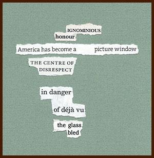 found poem © j.i. kleinberg ~ IGNOMINIOUS