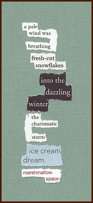 found poem © j.i. kleinberg ~ a pale wind
