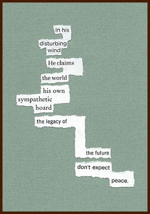 found poem © j.i. kleinberg ~ in his