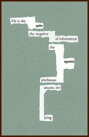 found poem 1365 © j.i. kleinberg ~ He is