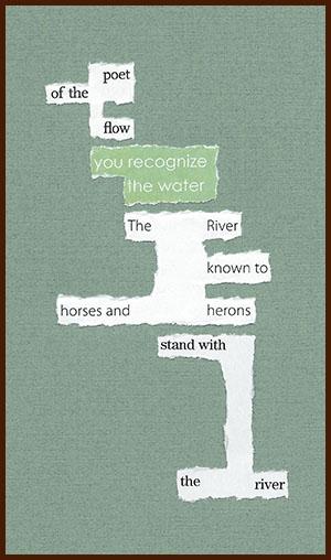 found poem © j.i. kleinberg ~ poet