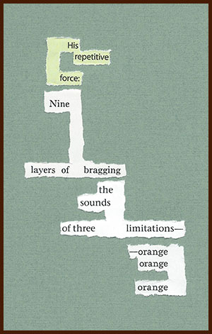 found poem © j.i. kleinberg ~ His