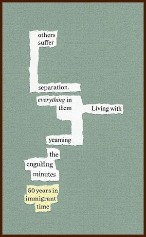 found poem © j.i. kleinberg ~ examples