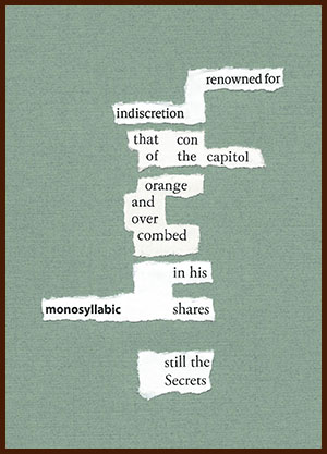 found poem © j.i. kleinberg ~ renowned