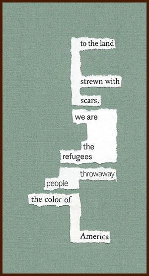 found poem © j.i. kleinberg ~ to the land
