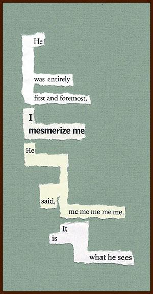 found poem © j.i. kleinberg ~ He