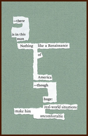 found poem © j.i. kleinberg ~ there