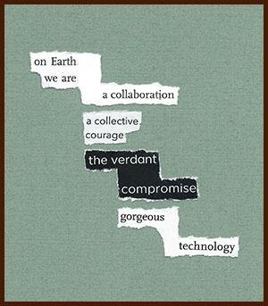 found poem © j.i. kleinberg ~ on Earth