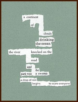 found poem © j.i. kleinberg ~ a continent
