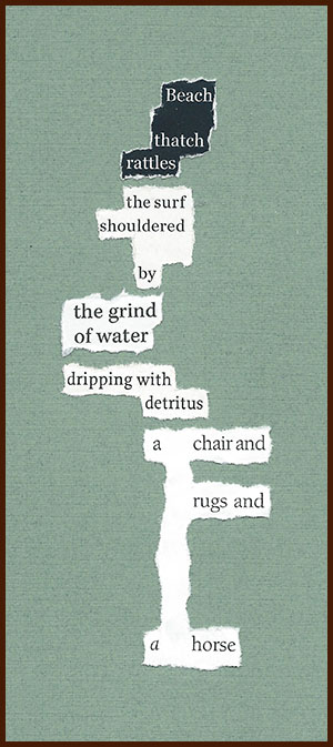 found poem © j.i. kleinberg ~ Beach