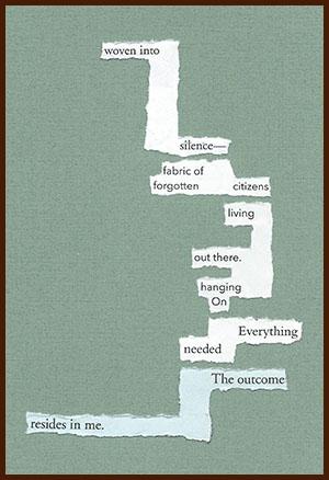 found poem © j.i. kleinberg ~ woven