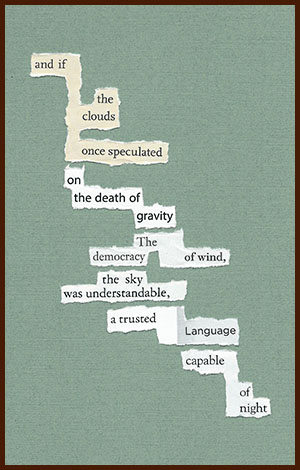found poem © j.i. kleinberg ~ and if