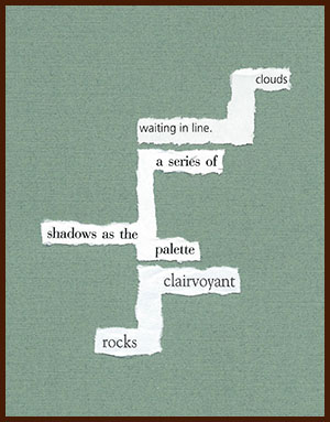 found poem © j.i. kleinberg ~ clouds