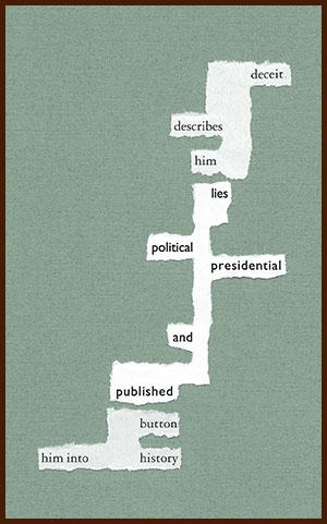 found poem © j.i. kleinberg ~ deceit