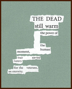 found poem © j.i. kleinberg ~ THE DEAD