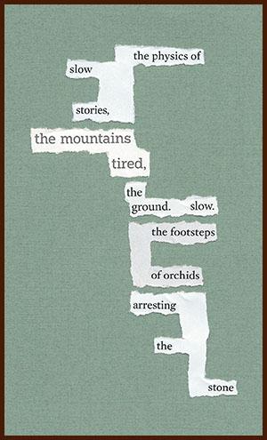 found poem © j.i. kleinberg ~ the physics