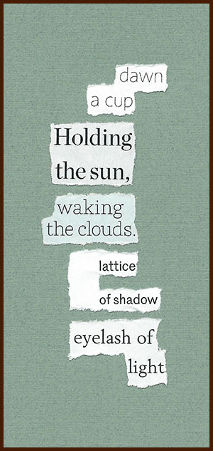 found poem © j.i. kleinberg ~ dawn