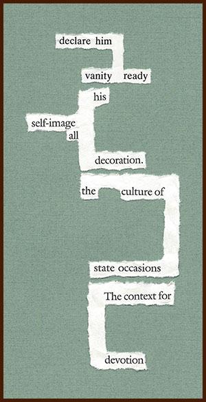 found poem © j.i. kleinberg ~ declare