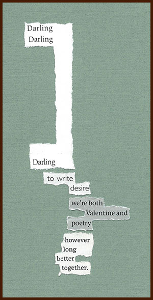 found poem © j.i. kleinberg ~ Darling
