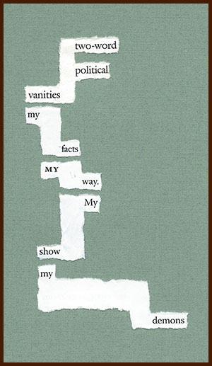 found poem © j.i. kleinberg ~ two-word