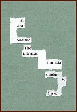 found poem © j.i. kleinberg ~ #1