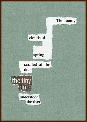 found poem © j.i. kleinberg ~ The foamy